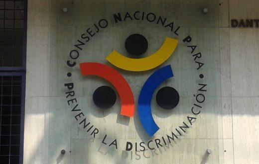 Fachada del Consejo Nacional para Prevenir y Eliminar la Discriminación. FOTO: Agencias