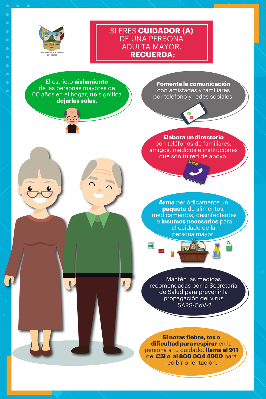 Cuidadores de adultos mayores veda