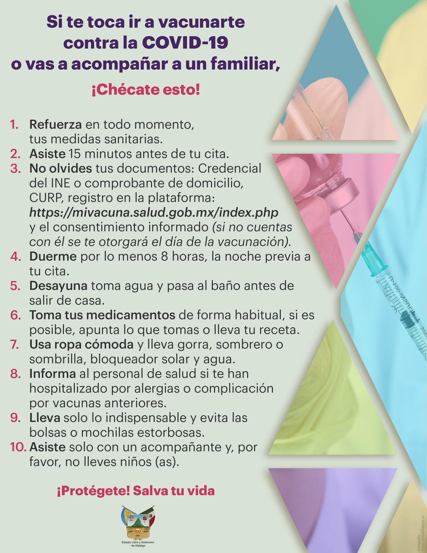 Veda recomendaciones vacuna mayores 3 ver 1