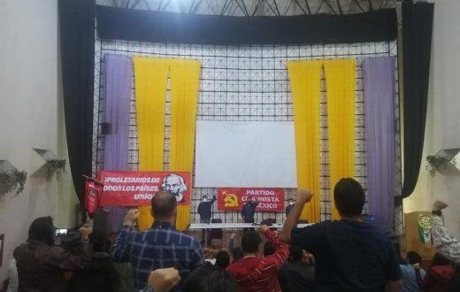 Partido Comunista México Conferencia Nacional de Organización